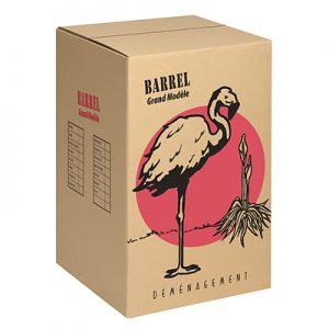 Carton Barrel – Grand Modèle