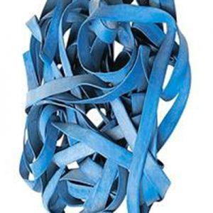 Bracelet caoutchouc bleu