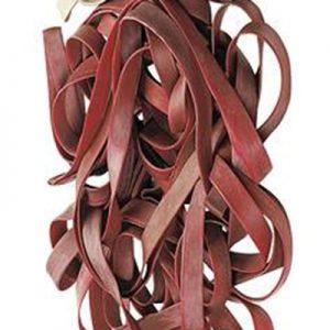 Bracelet caoutchouc rouge