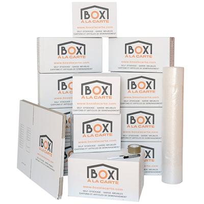 Pack déménagement Box à la Carte