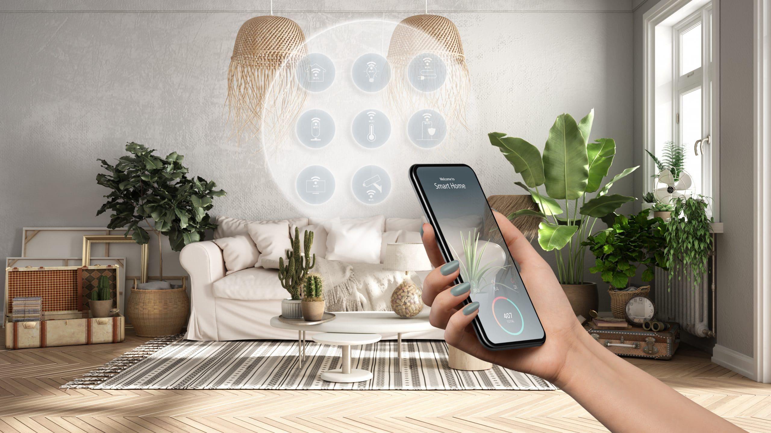 Des solutions pour connecter entièrement sa maison