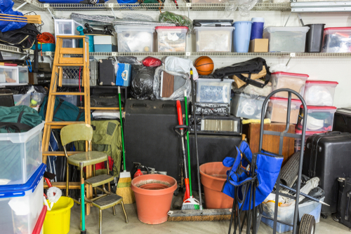 garage encombre